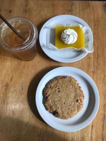 PB Chocolate Chip Cookie & Lemon Bar